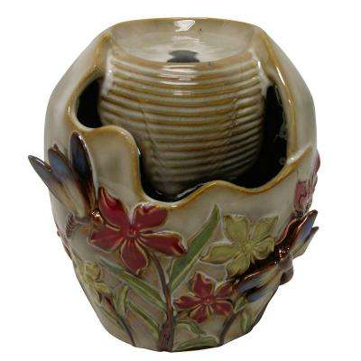 7 in. Ceramic Tabletop Fountain