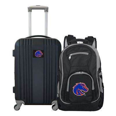 NCAA Boise State Broncos 2-Piece Set Luggage and Backpack