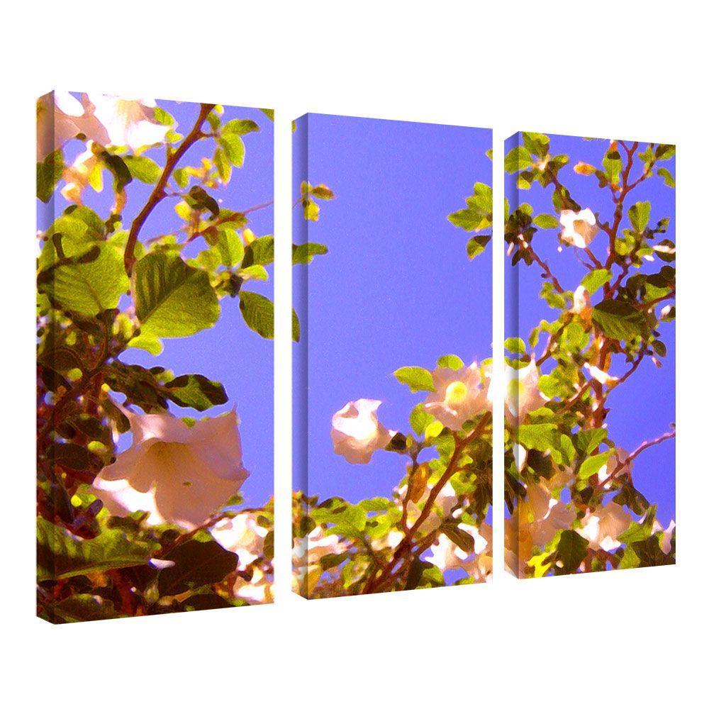 14 in. x 32 in. Flowering Tree II by Amy Vangsgard