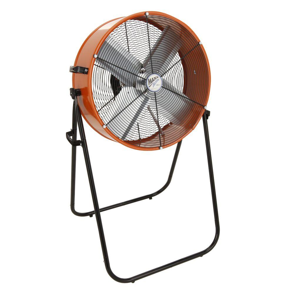 Ventamatic Maxxair 24 in. 2-speed, Direct Drive Man Cooler/Drum Fan-DISCONTINUED