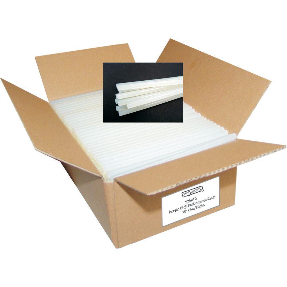 Surebonder 7/16 in. D x 10 in. L Unique High Performance Adhesive with Glue Sticks (25 lb. per Box)