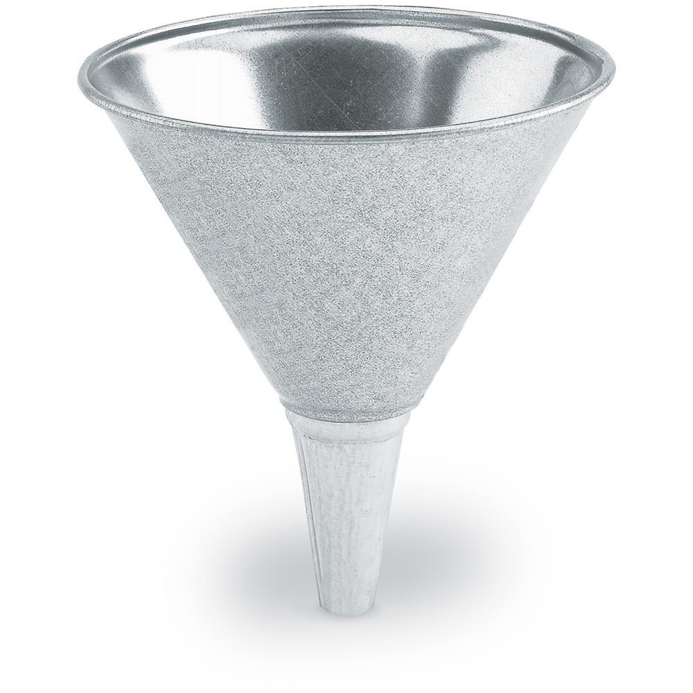 Lumax 2 qt./64 oz. Galvanized Funnel by Lumax