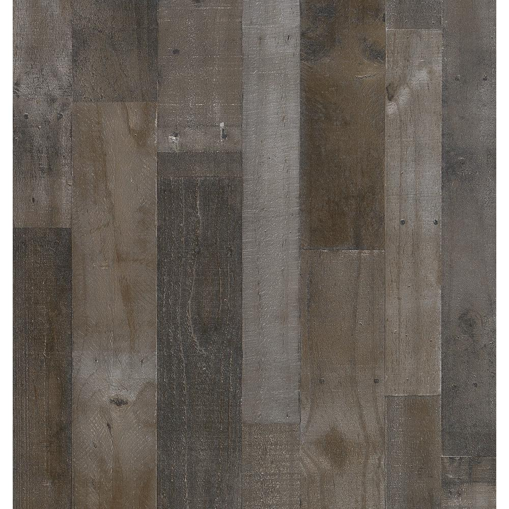 Extreem Weathered Grey Plank 32 sq. ft. MDF Paneling-169779 - The Home Depot EA89