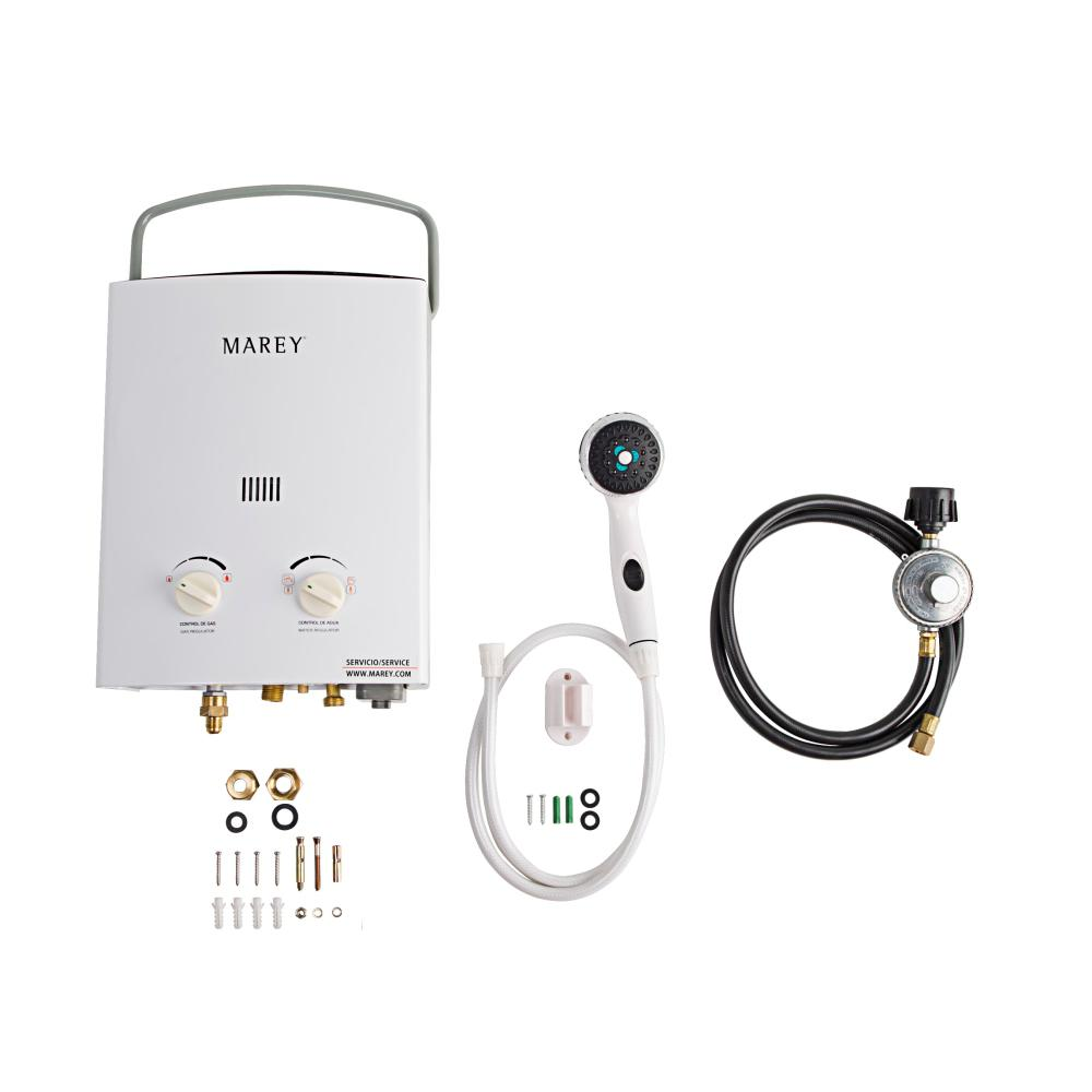 2.0 GPM Liquid Propane Gas Portable Tankless Water Heater