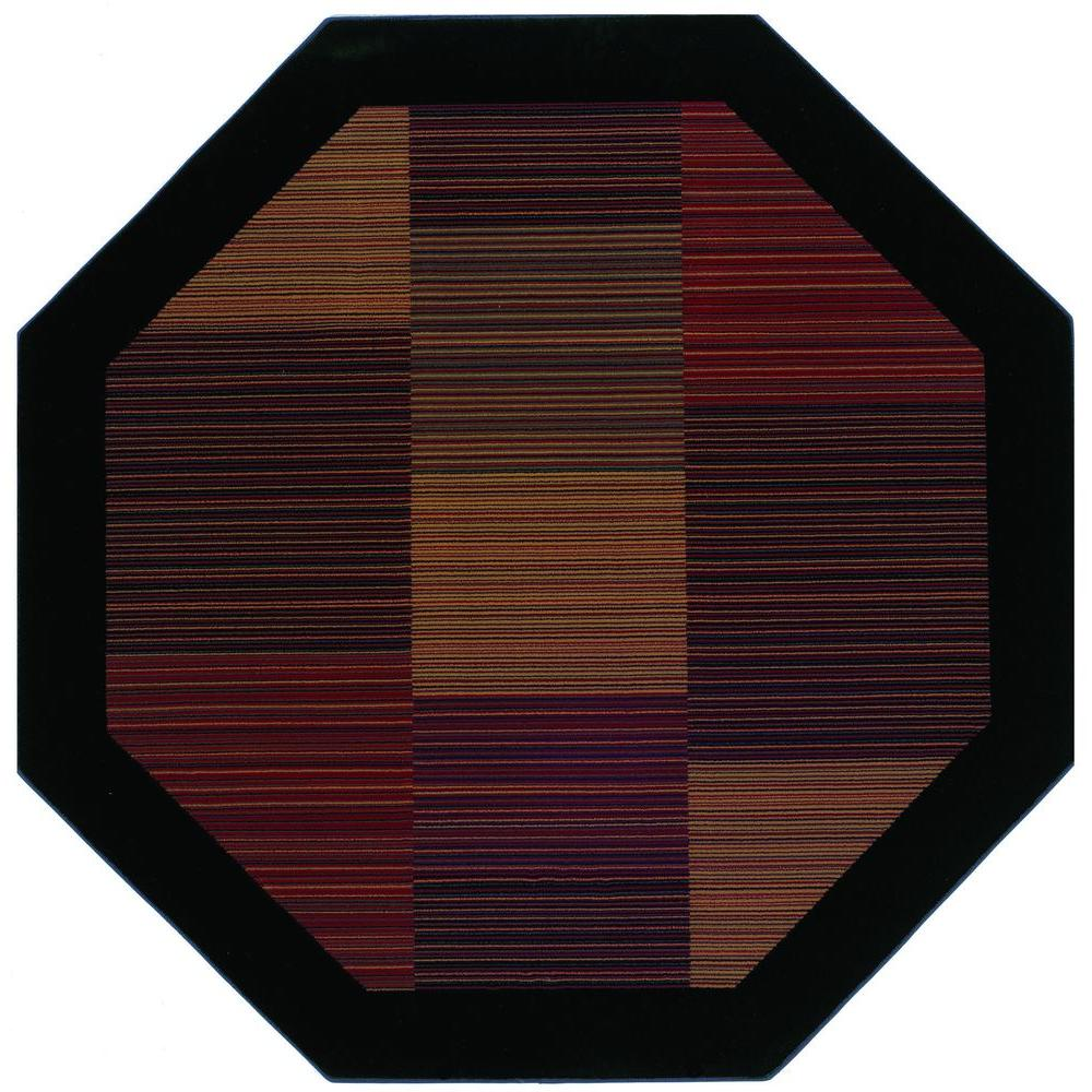 Everest Hampton's Multi Stripe 5 ft. 3 in. X 5 ft.