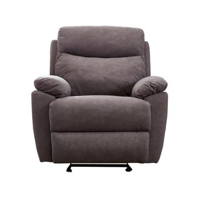 Gray Manual Ergonomic Recliner for Living Room Chair Home Theater