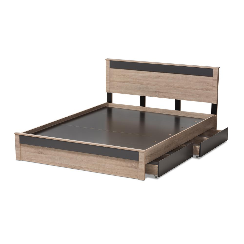 Baxton Studio Jamie Light Brown Wood Queen Storage Bed  sc 1 st  The Home Depot & Baxton Studio Jamie Light Brown Wood Queen Storage Bed-7709-8041-HD ...