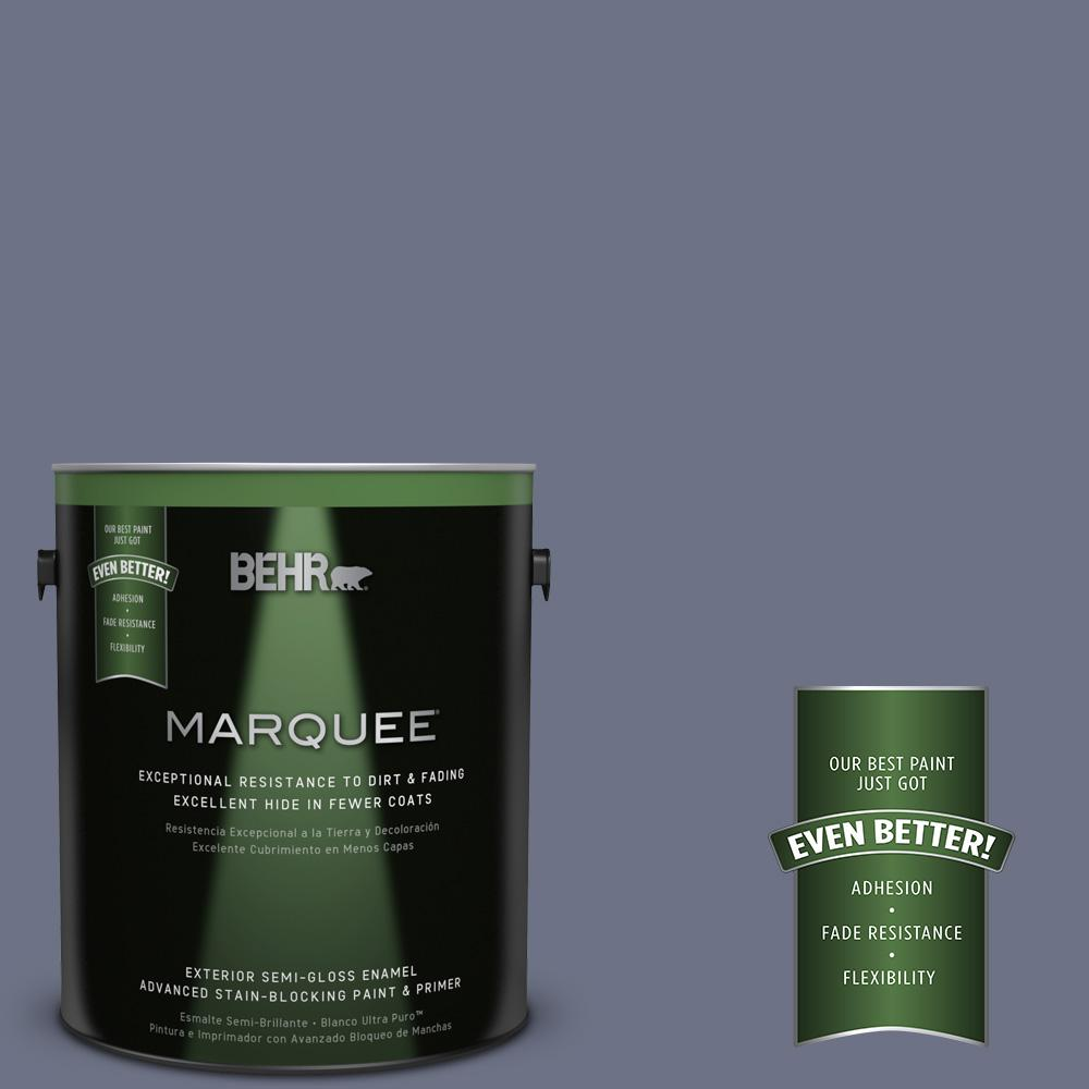 BEHR MARQUEE 1-gal. #MQ5-11 Encore Semi-Gloss Enamel Exterior Paint