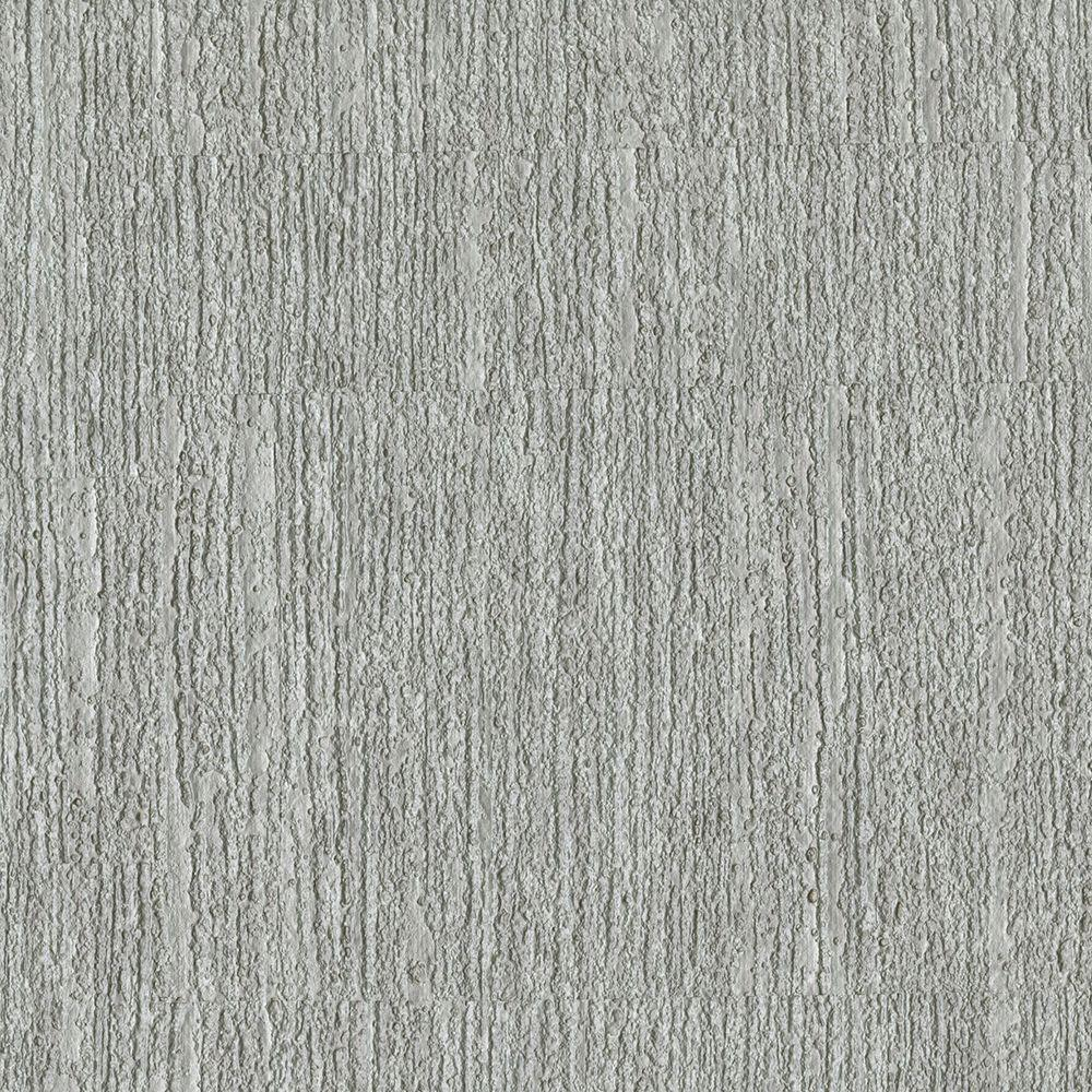 Brewster Light Grey Oak Texture Wallpaper Sample