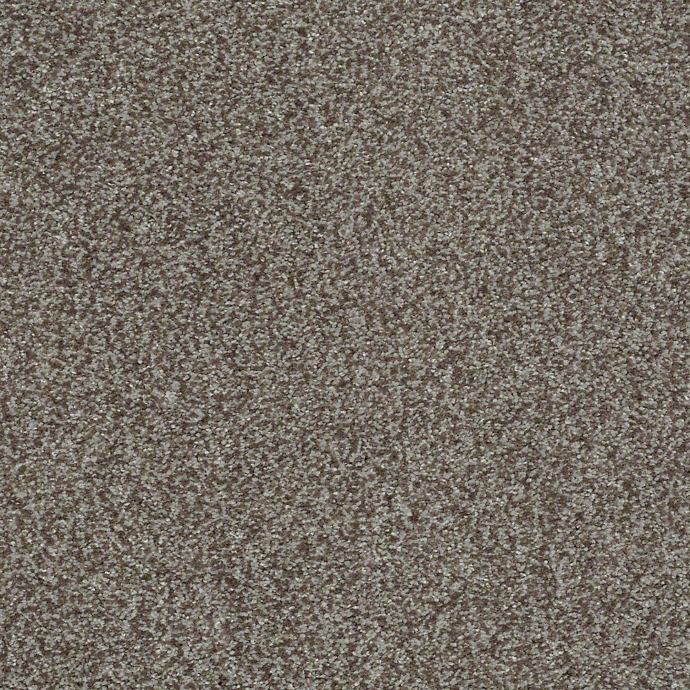 Carpet Sample - Opulence - In Color Stonewall 8 in. x