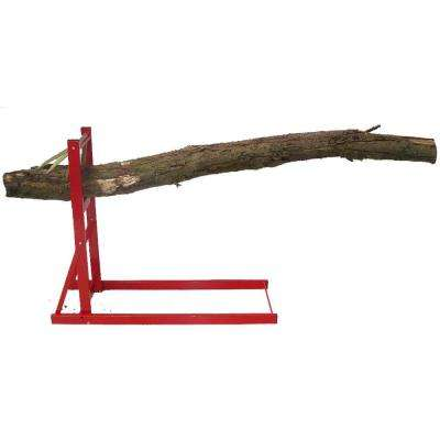 330 lb. Capacity Quick Fire Saw Horse, Log Holder for Chainsaws and Log Splitters