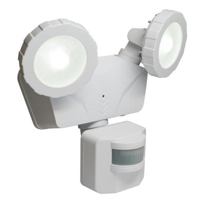160° White Solar Outdoor LED 500 Lumens Wireless Smart Control Motion Activated Light