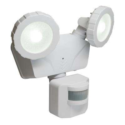 160° White Solar Outdoor LED 500 Lumens Bluetooth Smart Control Motion Activated Light