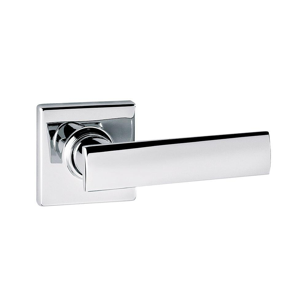 Kwikset Vedani Square Polished Chrome Hall/Closet Lever-720VDL SQT ...