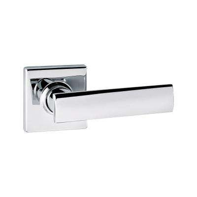 Vedani Square Polished Chrome Hall/Closet Lever