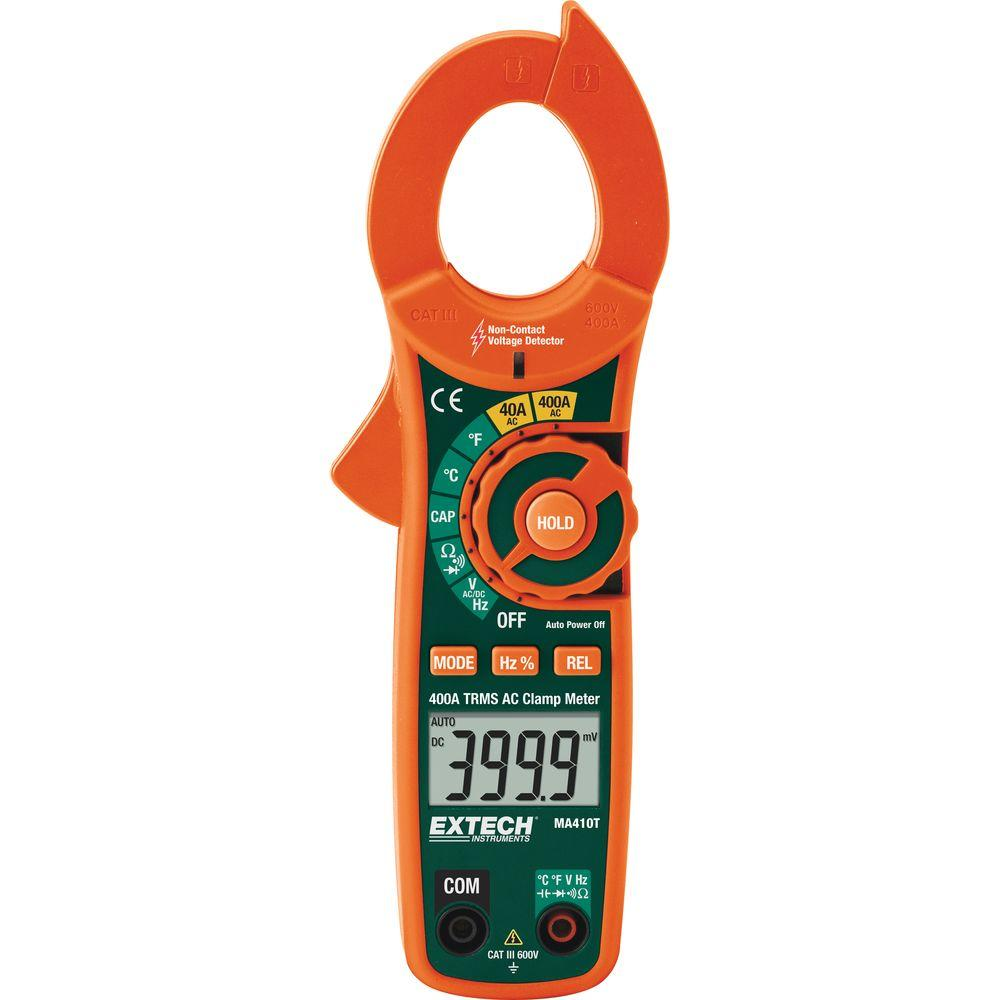 400 Amp True RMS AC and NCV Clamp Meter