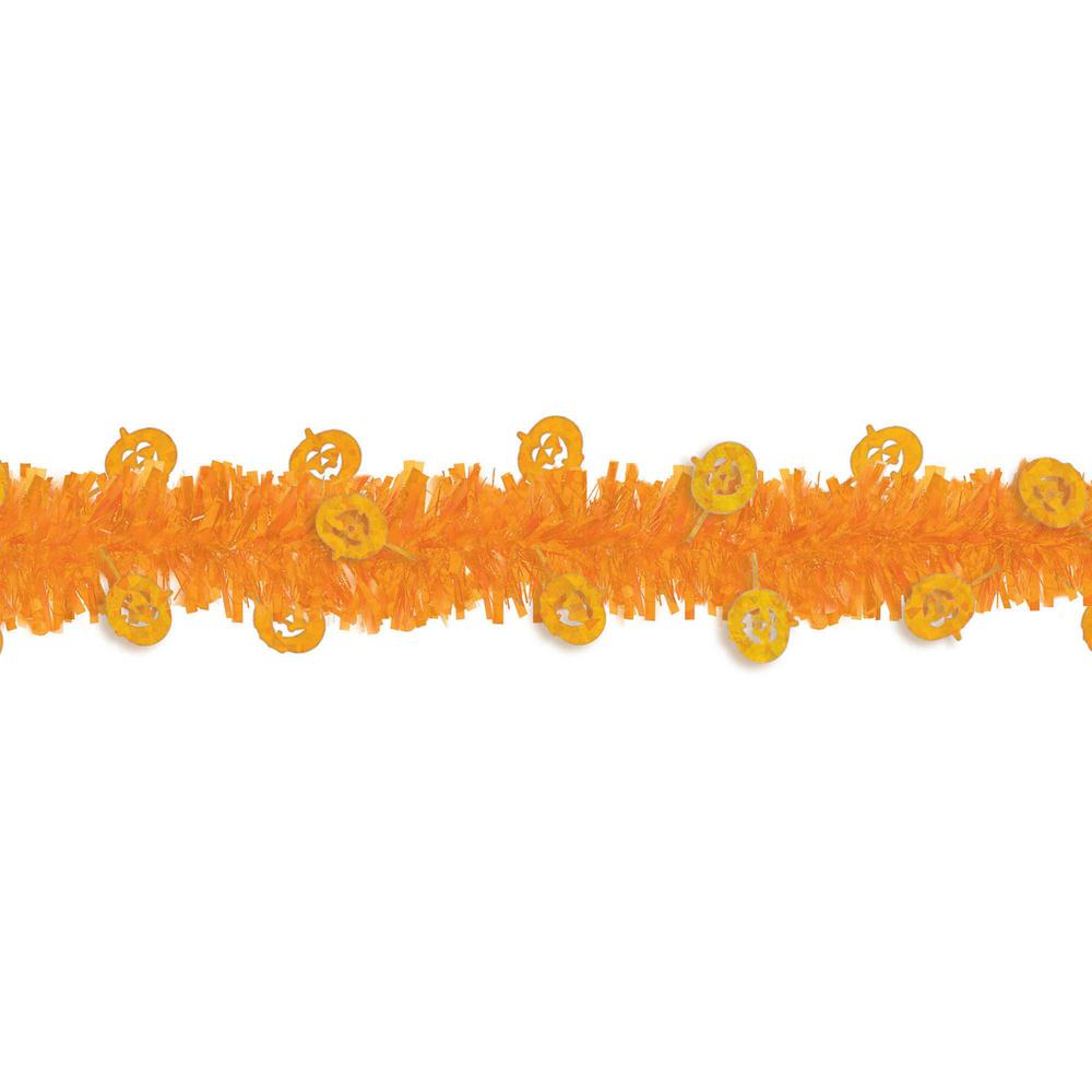 240 in. Halloween Pumpkin Garland