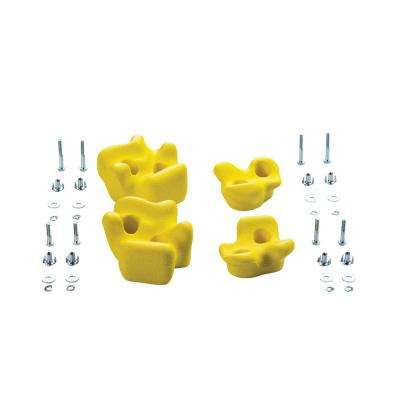 Climbing Rocks (4 Pack) - Yellow