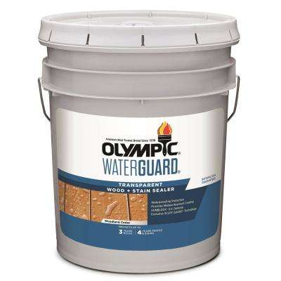 WaterGuard 5 gal. Woodland Cedar Transparent Wood Stain and Sealer