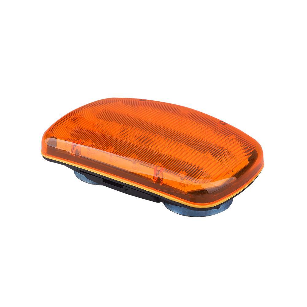 6-Volt Magnetic Amber LED Safety Light