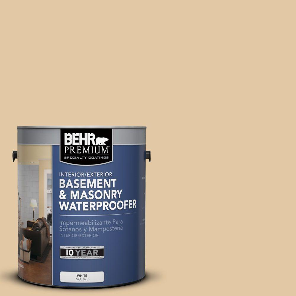 BEHR Premium 1 gal. #BW-40 Ochre Beige Basement and Masonry Waterproofer