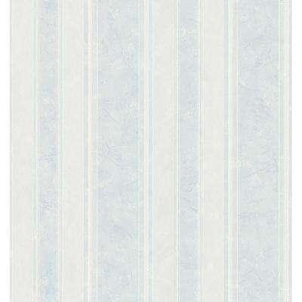Bath Bath Bath III Blue Marble Stripe Wallpaper Sample