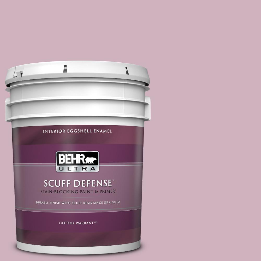 Behr Ultra 5 Gal S120 3 Candlelight Dinner Extra Durable Eggshell Enamel Interior Paint And Primer In One 275405 The Home Depot