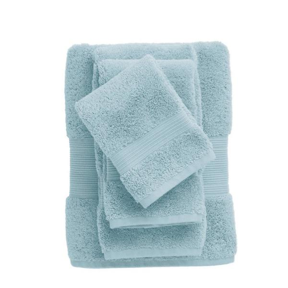 Legends Regal Blue Sky Solid Egyptian Cotton Bath Towel