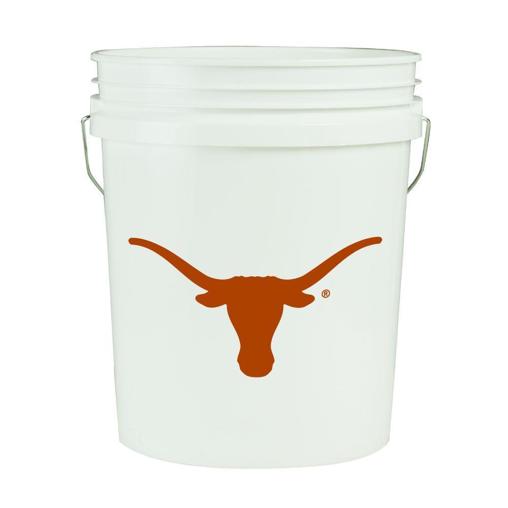Texas 5-Gal. College Bucket
