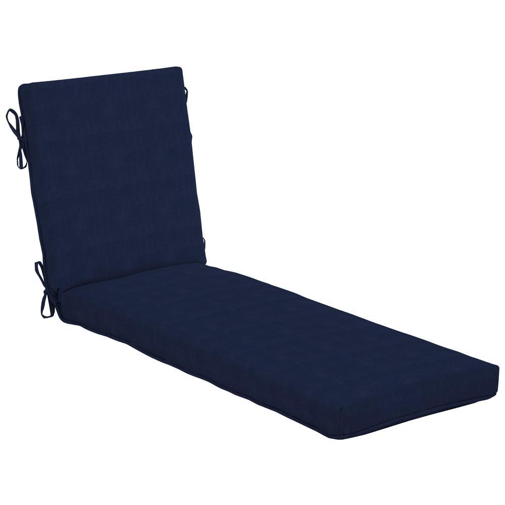 CushionGuard Midnight Outdoor Chaise Lounge Cushion