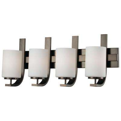 Pendenza 4-Light Oiled Bronze Wall Vanity Light