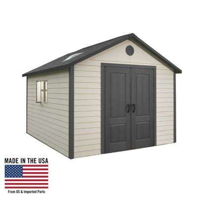 11 ft. x 11 ft. Outdoor Storage Building