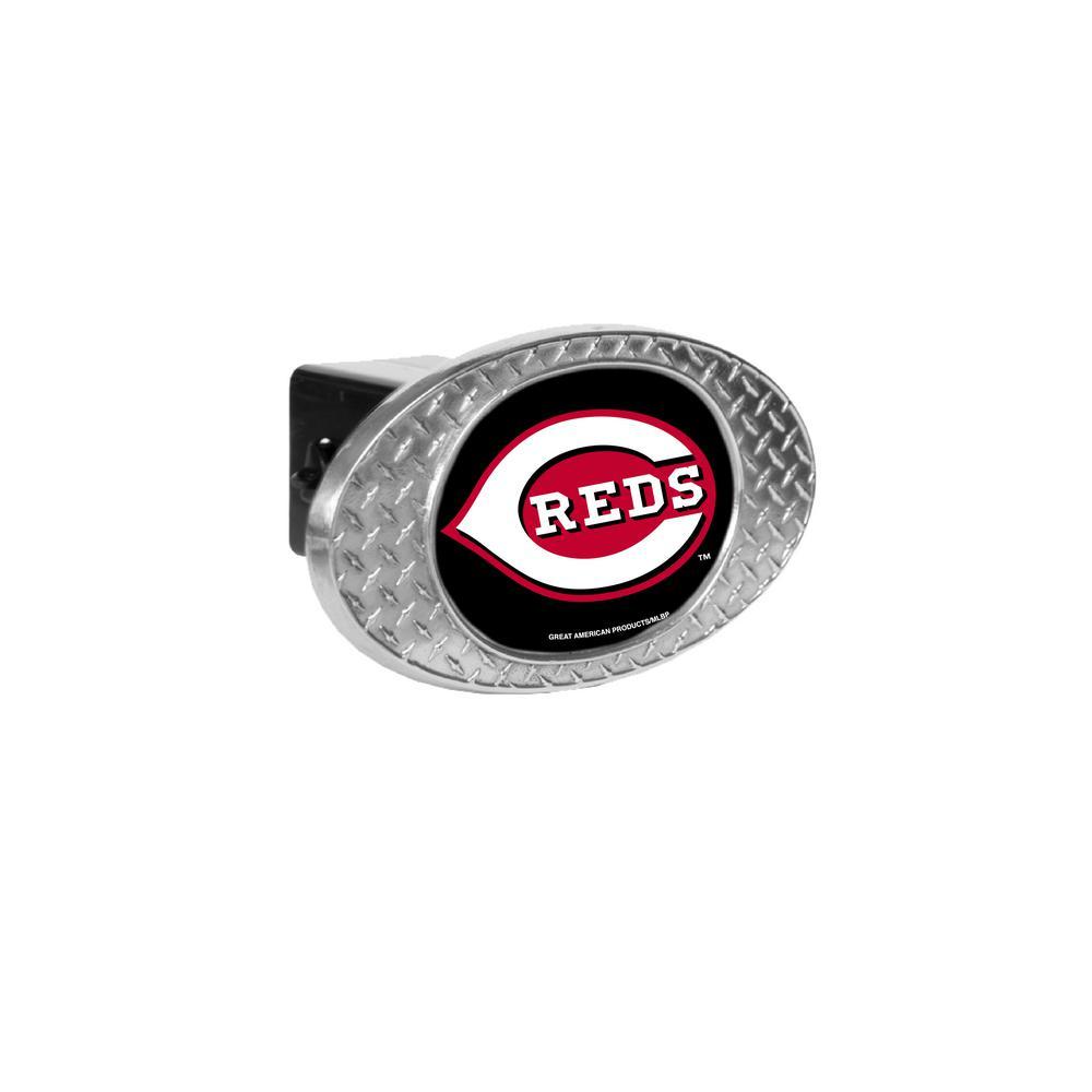 MLB Reds Oval Skid Hitch