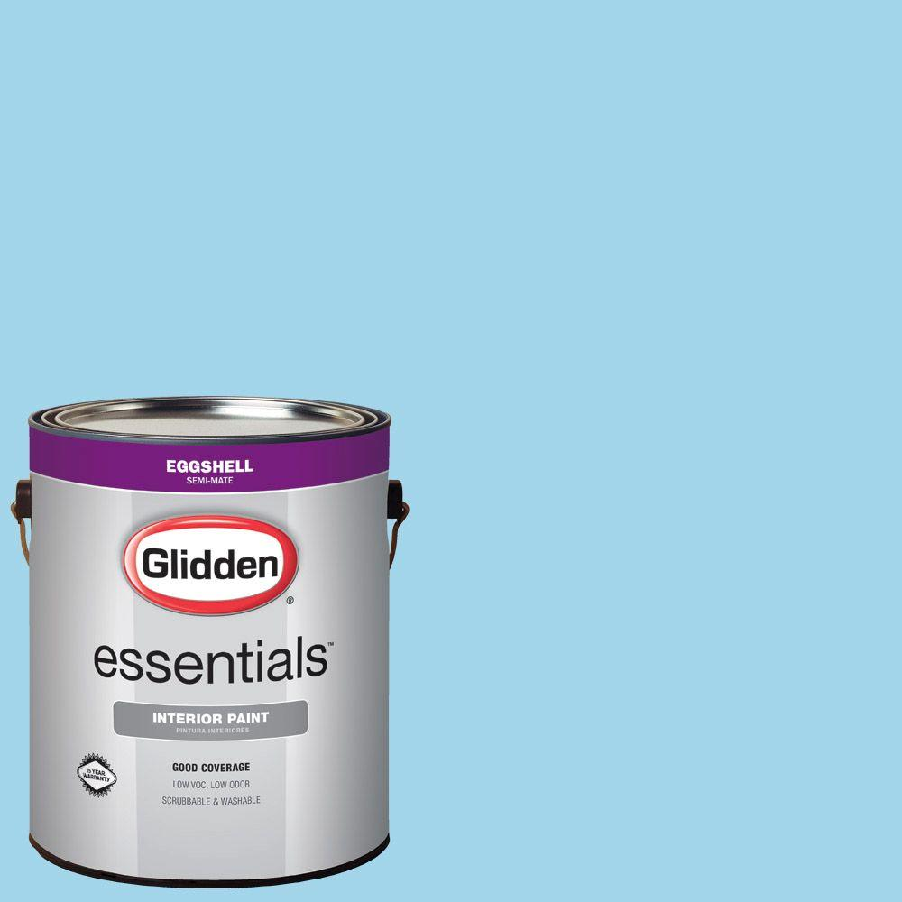 Hdgb55 Wild Blue Yonder Eggshell Interior Paint