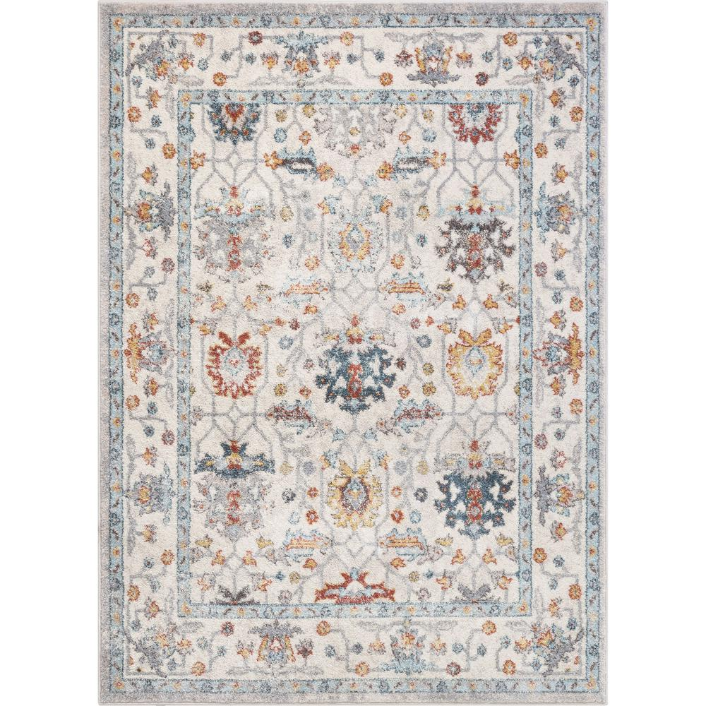 Well Woven Sydney Sofina Beige Vintage Bohemian Fl Botanical 5 Ft 3 In X 7 Distressed Area Rug