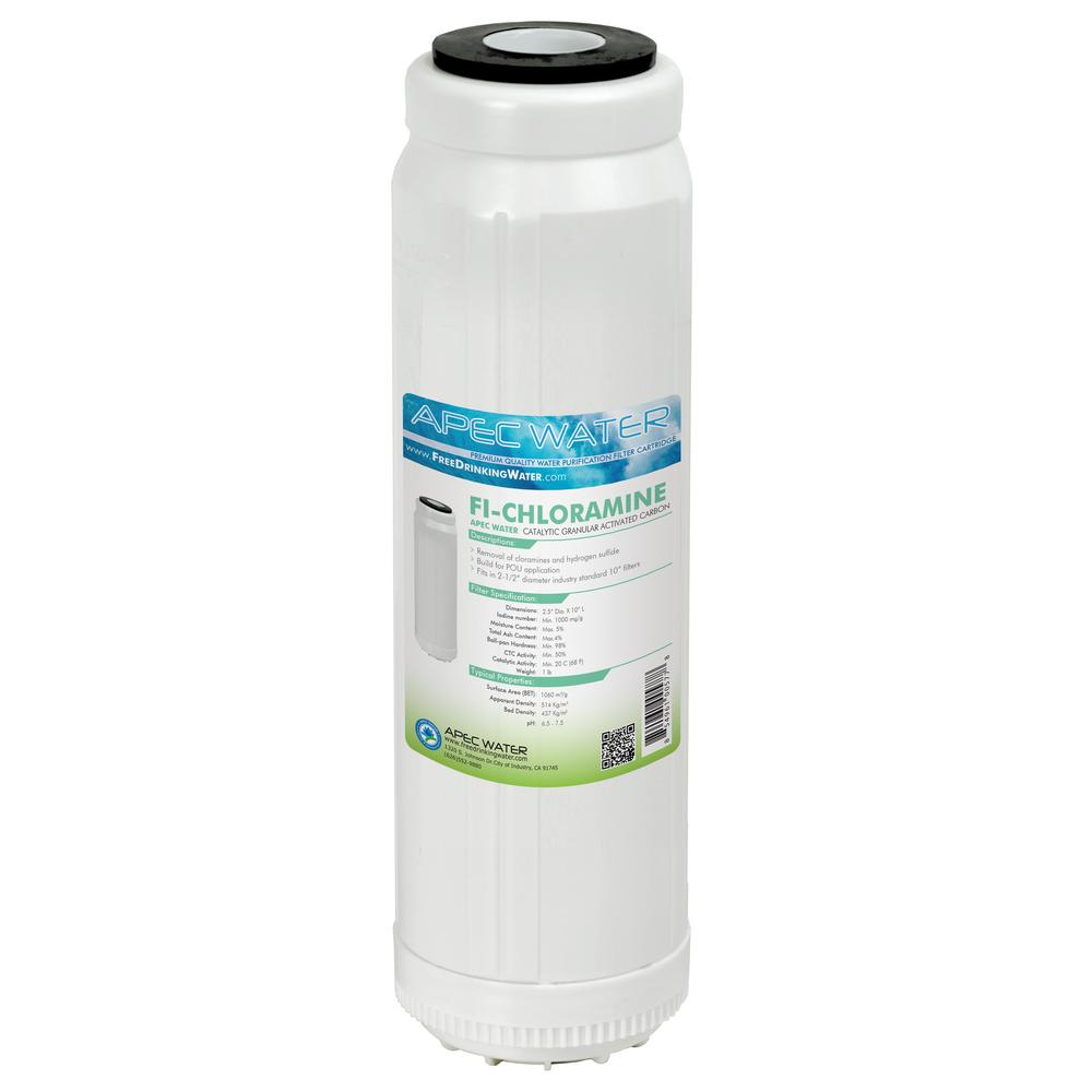 10 in. Replacement Filter for Chloramines and Hydrogen Sulfide Reduction to