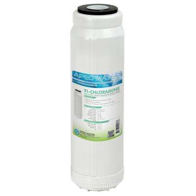 10 in. Replacement Filter for Chloramines and Hydrogen Sulfide Reduction to Replace Reverse Osmosis System 3rd Stage