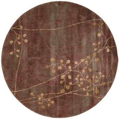 Somerset Multicolor 6 ft. Round Area Rug