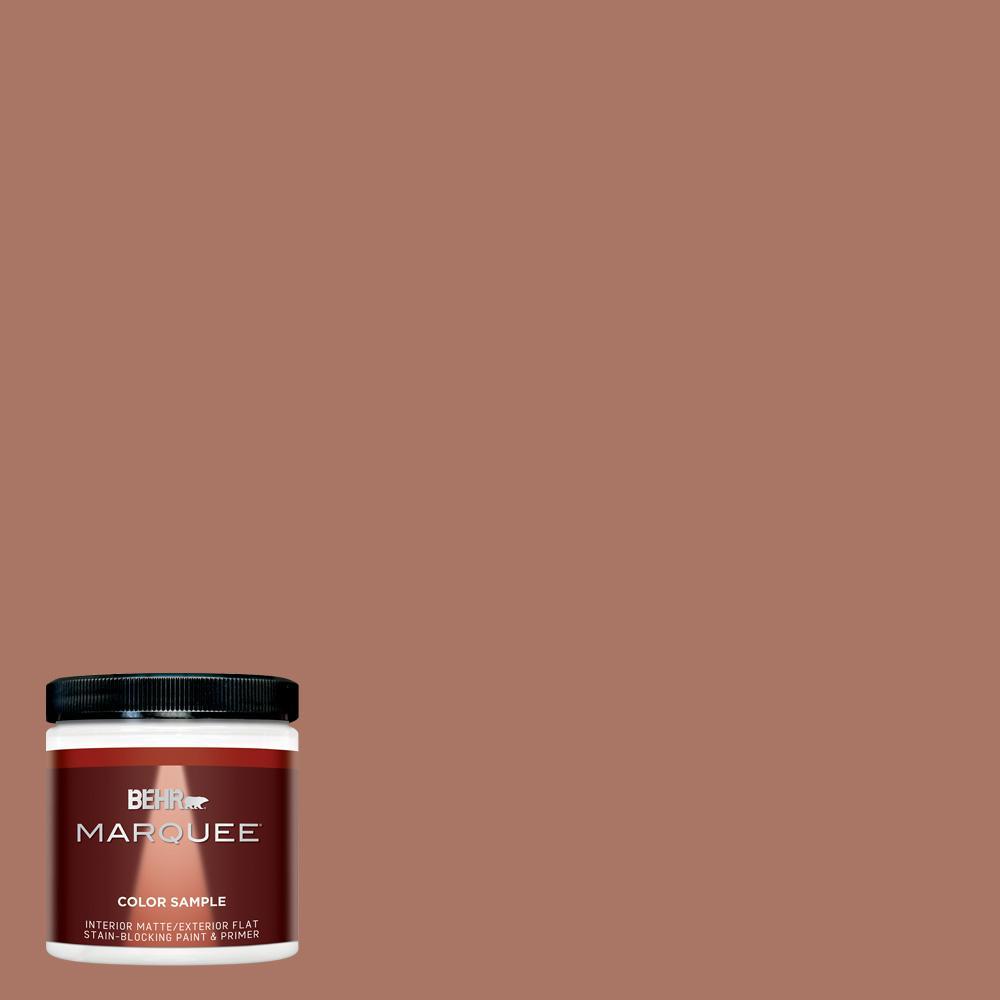 8 oz. #MQ1-60 Sienna Interior/Exterior Paint Sample