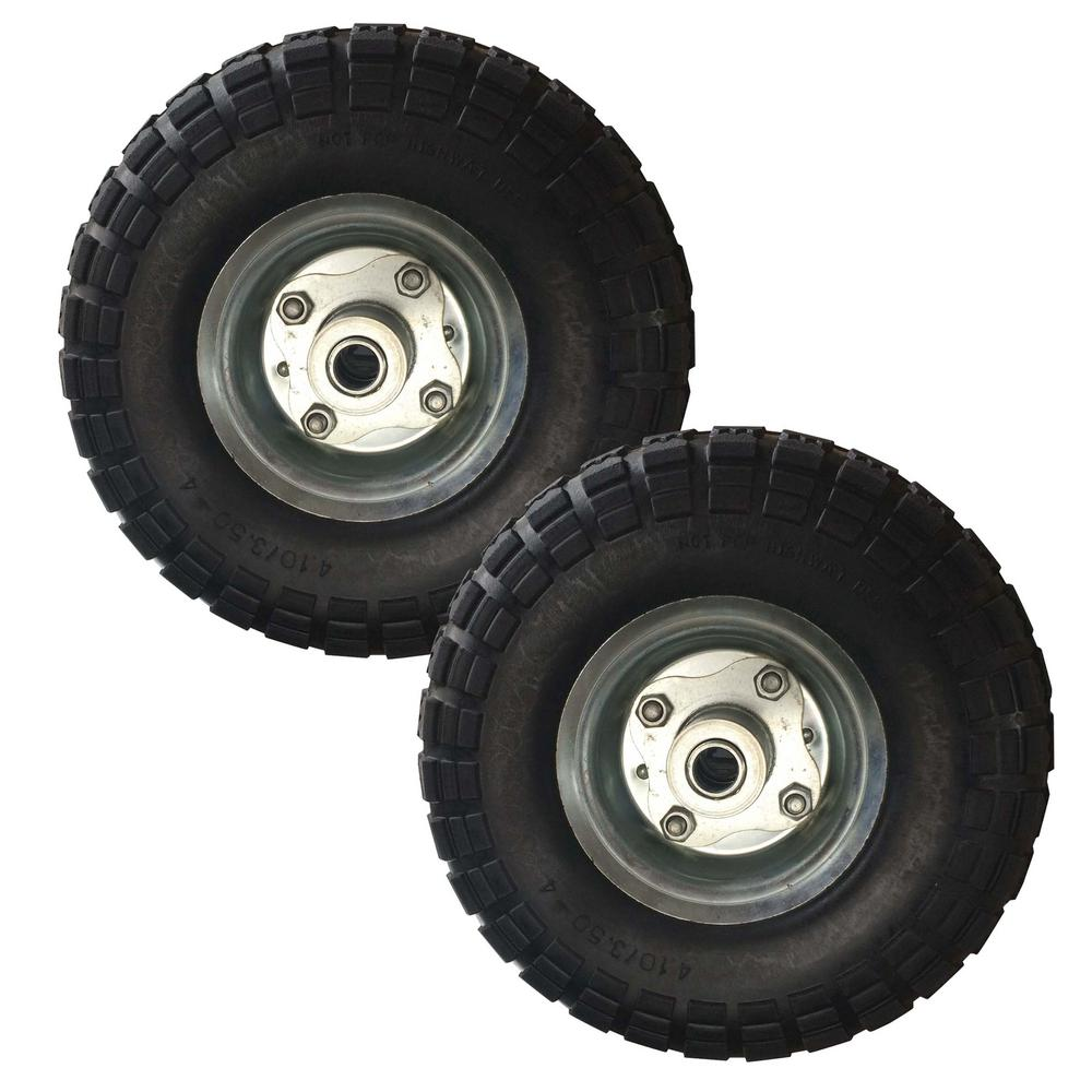 f9c189636943 Buffalo Tools 10 in. No Flat Tires (2-Pack)