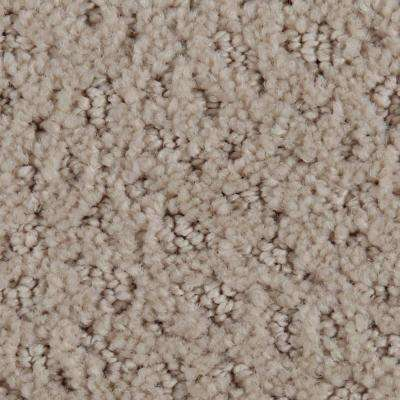 Carpet Sample - Hopeful Wishes - Color New Fawn Pattern 8 in. x 8 in.