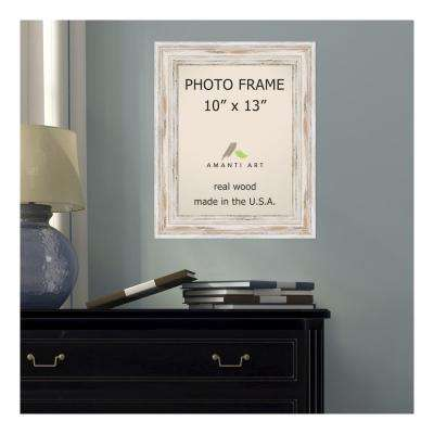 Alexandria 10 in. x 13 in. Whitewash Picture Frame