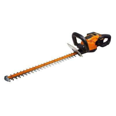 24 in. 56-Volt Max Lithium-Ion Cordless Hedge Trimmer