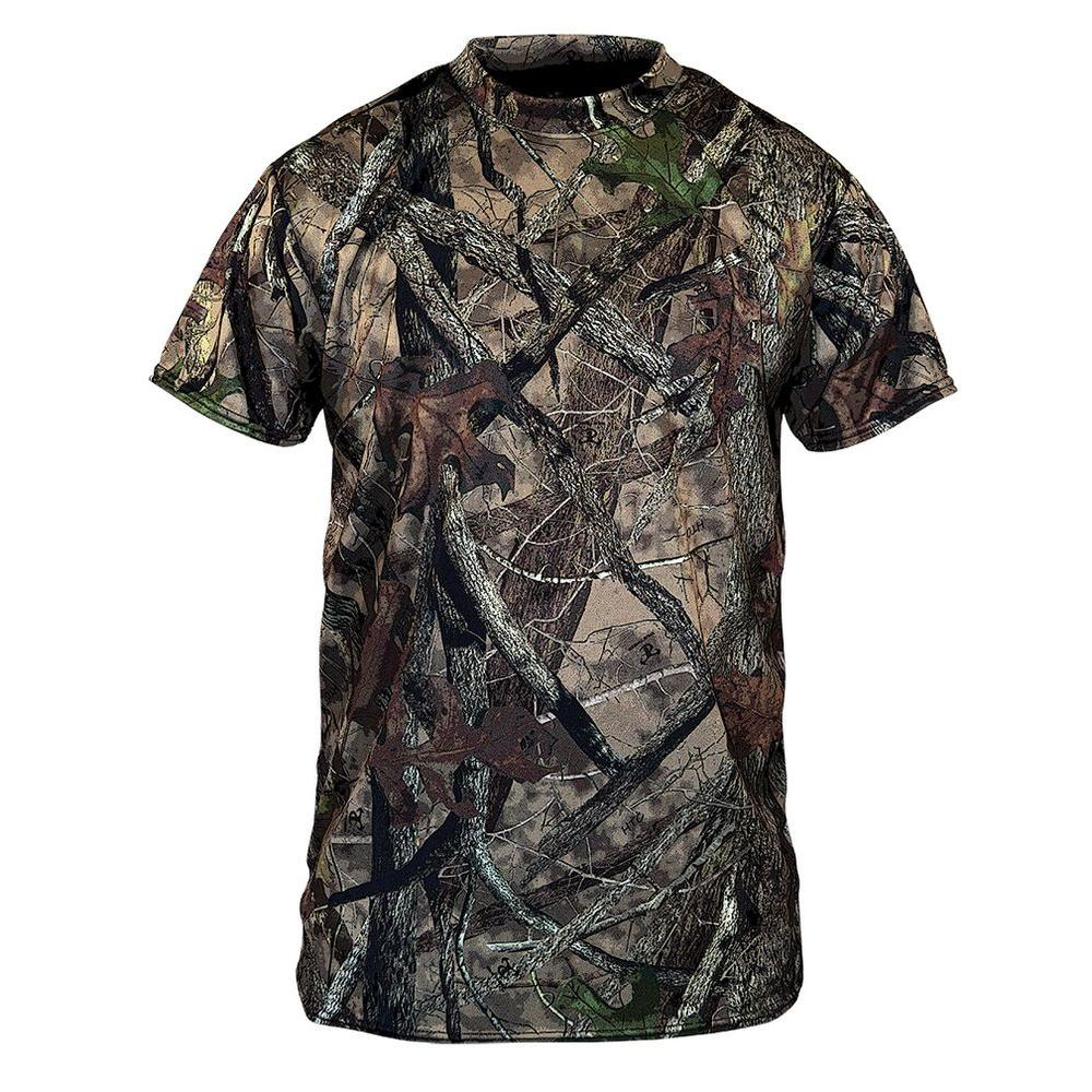 TrueTimber Camo Men's Medium Camouflage Short Sleeve Camo Cotton Tee