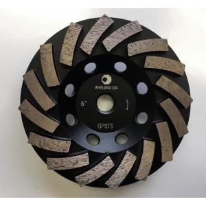 Whirlwind USA 5 inch Segmented Diamond Grinding Turbo Cup Wheel for Concrete and... by Whirlwind USA