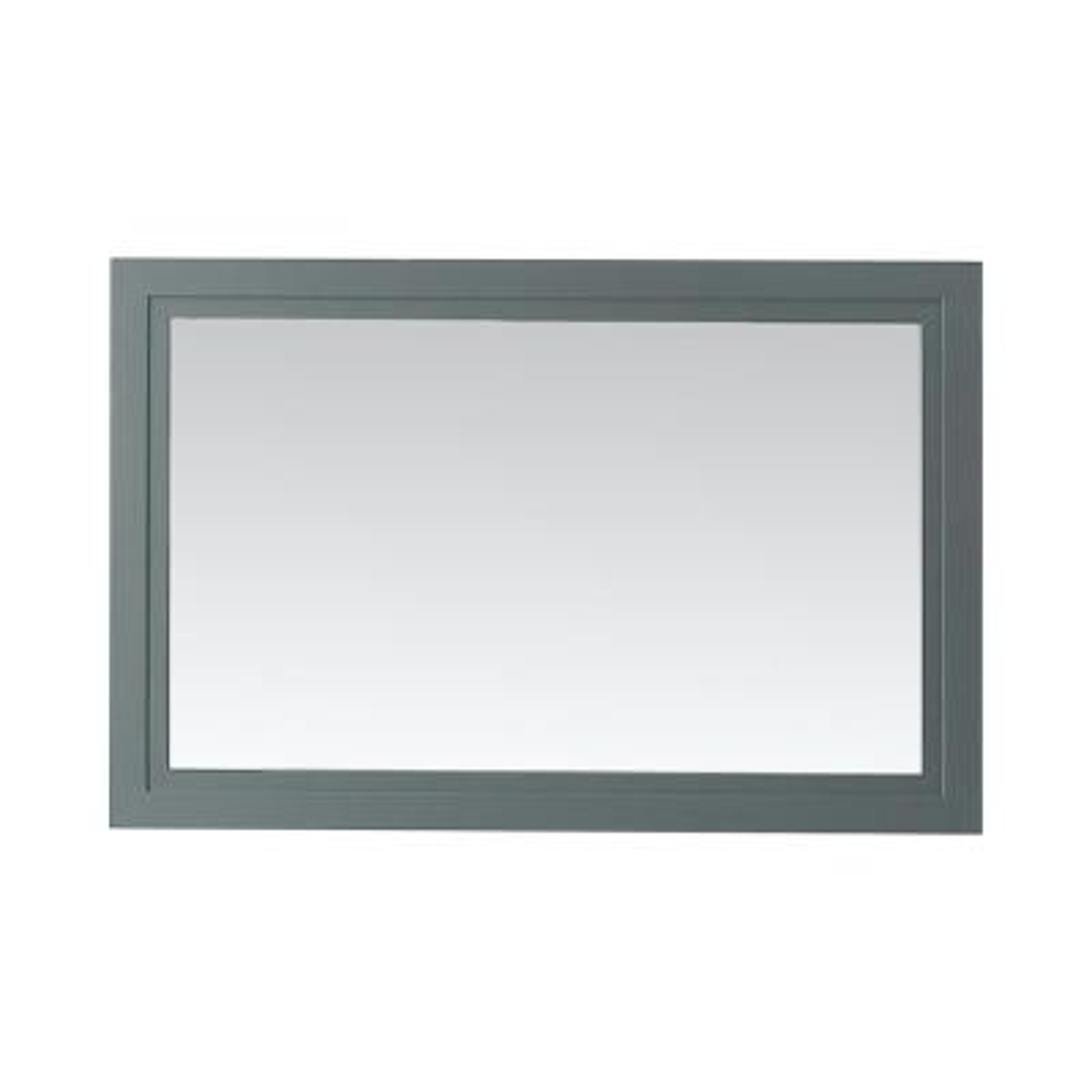 Lynn 30 in. x 46 in. Framed Mirror in School House Slate