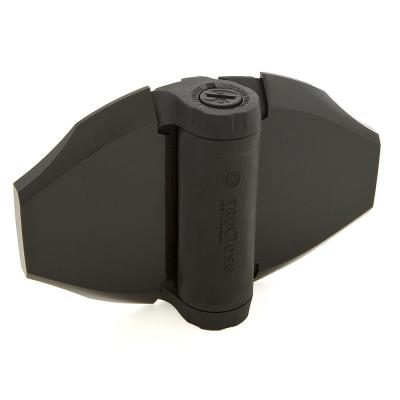 4-1/2 in. x 6-3/4 in. Black Polymer and Stainless Steel Heavy Duty Hinge