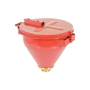 Vestil Steel Drum Funnel-Self Closing Lid by Vestil