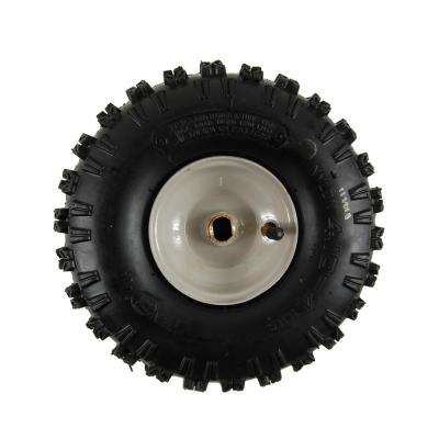 10 in. x 4 in. Wheel Assembly for Snow Throwers