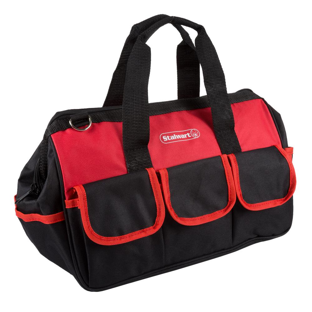 Tool Bag With Wide Mouth Storage